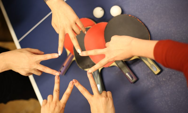 江戸川橋卓球バー